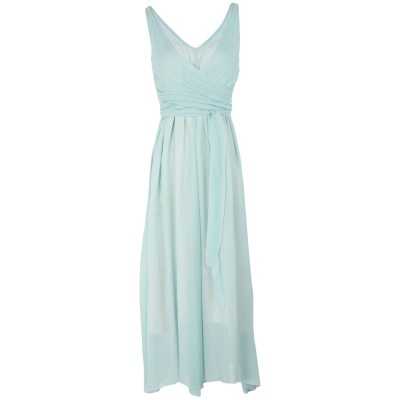 POMANDÈRE 7分丈ワンピース・ドレス ライトグリーン 40 レーヨン 100% 7分丈ワンピース・ドレス