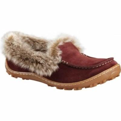 コロンビア Columbia レディース スリッパ モカシン シューズ・靴 Minx Omni-Heat Moccasin Slipper Madder Brown/Ancient Fossil