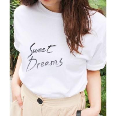 tシャツ Tシャツ 英字プリントTシャツ プリントTシャツ 英字プリント 半袖 レタリングTシャツ