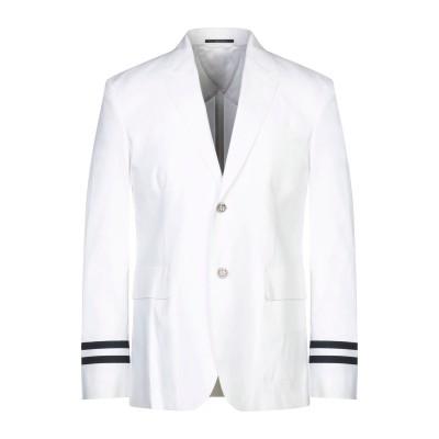 グッチ GUCCI テーラードジャケット ホワイト 48 コットン 71% / ナイロン 26% / ポリウレタン 3% / ポリウレタン テーラー