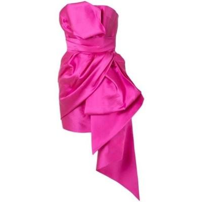 ワンピース パーティドレス レディースThe 2Nd Skin Co strapless architectural mini dressPink