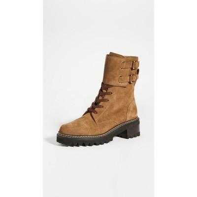 クロエ See by Chloe レディース ブーツ コンバットブーツ シューズ・靴 Combat Mallory Boots Terra