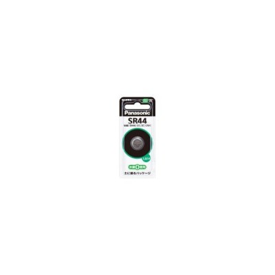 パナソニック マイクロ電池 SR44P  【メール便発送・代引き不可】