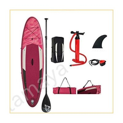 HSTFR Stand up Paddle Boards Surfboard - Stand up Inflatable Paddle Boards 12cm Thick Surfboard with SUP Accessories Carrying Bag, Adjustabl