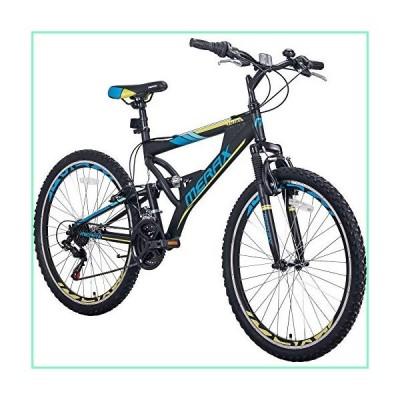 Merax FT323 Mountain Bike 21 Speed Full Suspension Aluminum Frame MTB Bicycle - 26 inch (Blue)【並行輸入品】