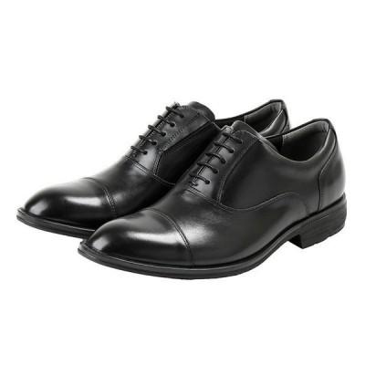 texcy luxe テクシーリュクス TU-7020 TU7020 ブラック 24.5〜28cm 革靴 ビジネスシューズ メンズ 幅広 軽量 紳士靴 アシックス商事 冠婚葬祭