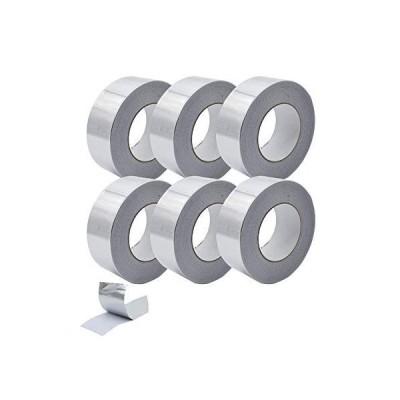 Supstech アルミ箔テ-プ ダクト パイプ HVAC用 強力粘着 2インチ x 55ヤ-ド 3.9ミル 6パック並行輸入品