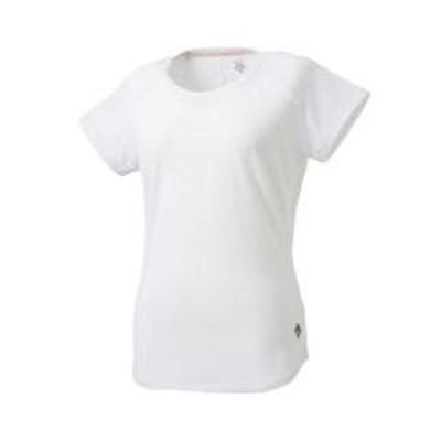 デサント【レディス】バックスリット Tシャツ