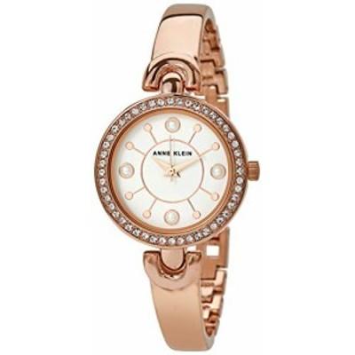 腕時計 アンクライン レディース Anne Klein Women's Swarovski Crystal Accented Watch and Bangle Se
