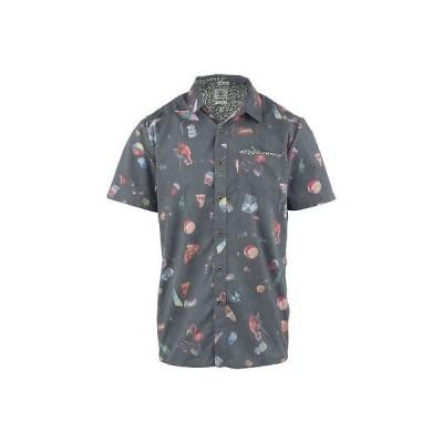 カジュアル シャツ ボルコム Volcom Club Destroy シャツ 半袖 メンズ