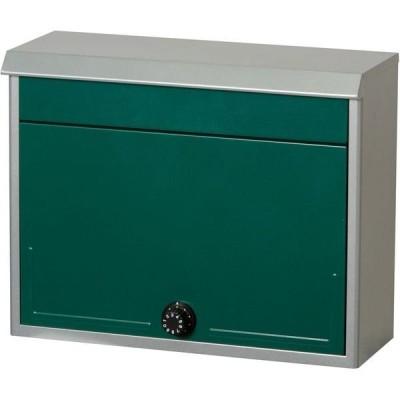 ケイ・ジー・ワイ工業ケイ・ジー・ワイ工業 スタイルポスト 幅375×奥行150×高さ300mm グリーン SG-48L GR 1台(直送品)