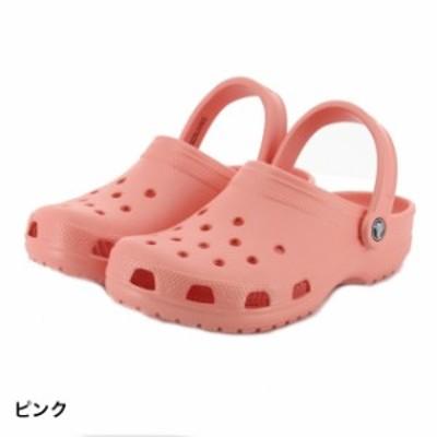 クロックス 正規品 【2019年モデル】 クラシック クロッグ ピンク クロッグサンダル レディース classic clog crocs