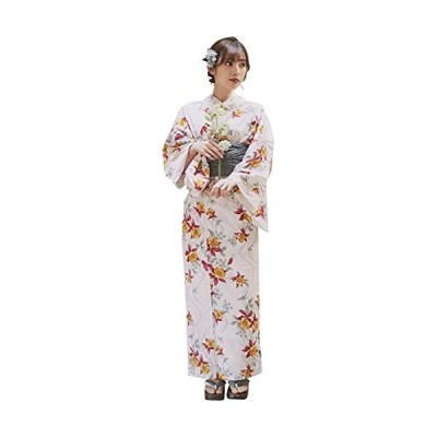 (ディータ) Dita 1人で着られる浴衣 フルセット レディース 浴衣(ゆかた) 帯(おび) 下駄(ゲタ) 3点 +腰ひも & 着付け