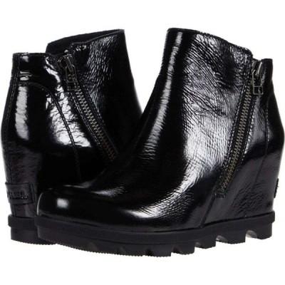 ソレル SOREL レディース シューズ・靴 ウェッジソール Joan of Arctic(TM) Wedge II Zip Black 1