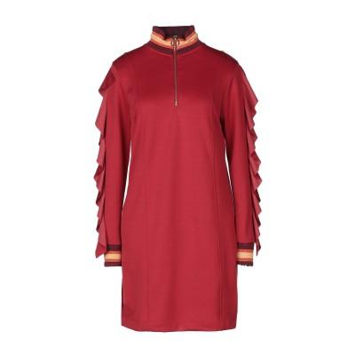 ジジル JIJIL ミニワンピース&ドレス レンガ 40 ポリエステル 83% / コットン 17% ミニワンピース&ドレス