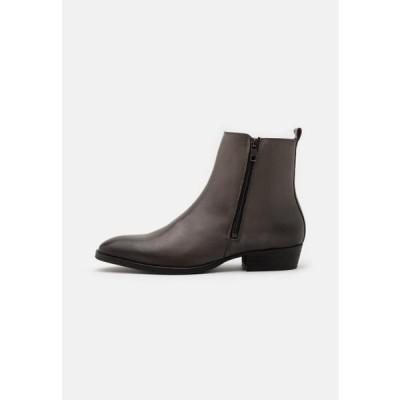 ビアンコ メンズ 靴 シューズ BIABECK - Classic ankle boots - light grey