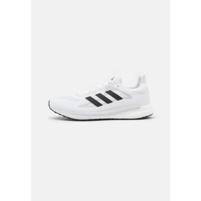 アディダス メンズ スポーツ用品 SOLAR GLIDE 3 - Neutral running shoes - footwear white/core black/dash grey