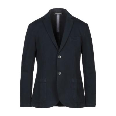メイソンズ MASON'S テーラードジャケット ダークブルー 50 コットン 98% / ポリウレタン 2% テーラードジャケット