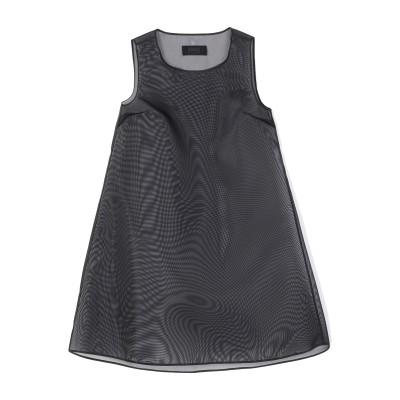 MM6 メゾン マルジェラ MM6 MAISON MARGIELA ミニワンピース&ドレス ブラック 44 ナイロン 100% ミニワンピース&ドレス