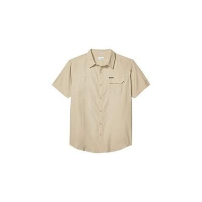コロンビア Smith Creek Woven Short Sleeve Shirt メンズ シャツ トップス Fossil
