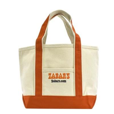 ゼイバーズ ZABAR'S バッグ トートバッグ B11004K SMALL スモール オフホワイト+オレンジ