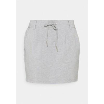 オンリー プティ スカート レディース ボトムス ONLPOPTRASH - Mini skirt - light grey