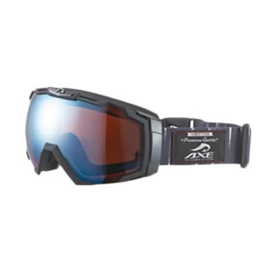 アックス(AXE) メンズ スノーボード ゴーグル ブラック/ブラックブルー AX770-WCM スノボー 用品 スノーゴーグル
