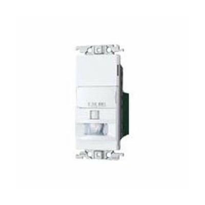 パナソニック(Panasonic) 熱線センサ付自動スイッチ 壁取付 コスモシリーズ ワイド21 2線式・片切 LED専用 (明るさ