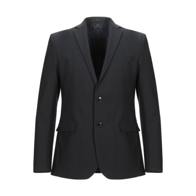アティピコ AT.P.CO テーラードジャケット ブラック 50 ポリエステル 53% / ウール 43% / ポリウレタン 4% テーラードジャケ