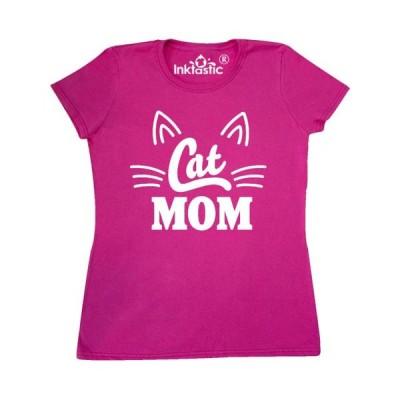 レディース 衣類 トップス Mothers Day Cat Mom Women's T-Shirt Tシャツ
