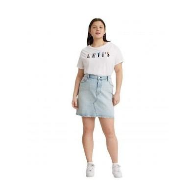 Levi's(R) Premium リーバイス レディース 女性用 ファッション スカート Deconstructed Skirt - Check Ya Later