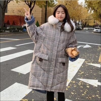 暖かい カジュアル ファッション フォーマル 通勤 OL オフィス ダウンコート ダウンジャケット 女性 中綿 ロング丈 アウター 防寒 軽量 防風 キレイめ