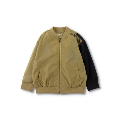 【branshes】配色切替えナイロンジャケット