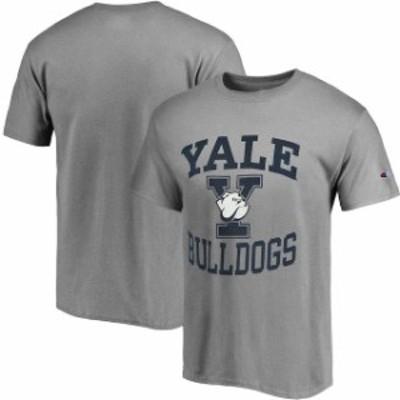 Champion チャンピオン スポーツ用品  Champion Yale Bulldogs Gray Tradition T-Shirt