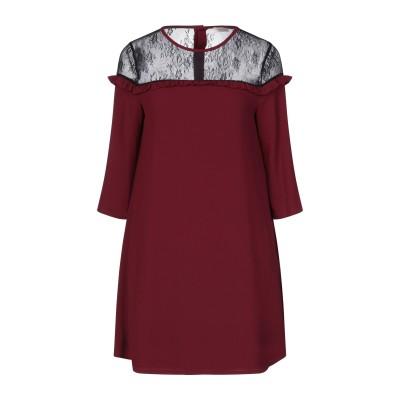 FRACOMINA ミニワンピース&ドレス ボルドー XS ポリエステル 96% / ポリウレタン 4% / ナイロン ミニワンピース&ドレス