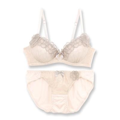 fran de lingerie / Gran Flower 144 グランフラワー ブラ&ショーツセット A-Fカップ WOMEN アンダーウェア > ブラ&ショーツ