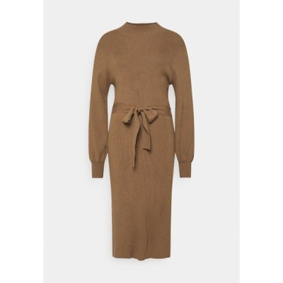 モス コペンハーゲン ワンピース レディース トップス MALLORY LIKE DRESS - Jumper dress - dark brown