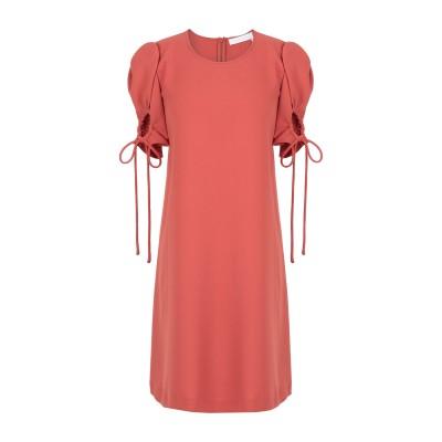 シーバイクロエ SEE BY CHLOÉ ミニワンピース&ドレス 赤茶色 34 ポリエステル 100% ミニワンピース&ドレス