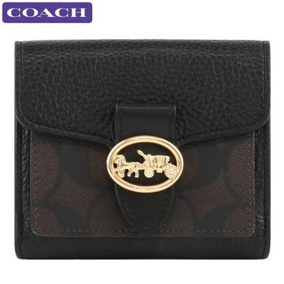 コーチ COACH 財布 二つ折り財布 7250 IMAA8 シグネチャー ミニ財布 アウトレット レディース 新作