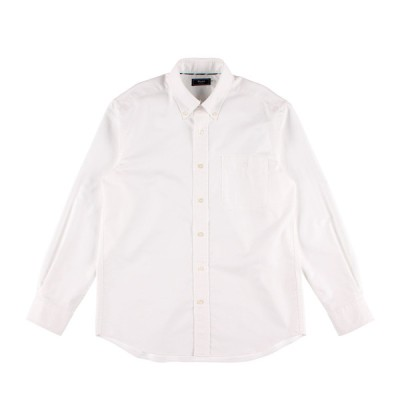 Kent メンズ 【在庫限り】オックスフォード無地シャツ ホワイト S