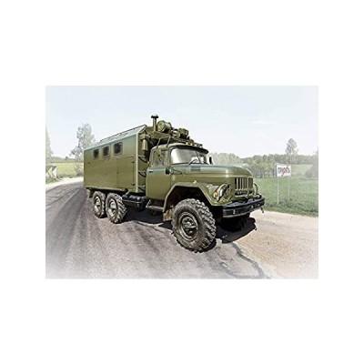 ICM 1/35 Scale ZiL-131 KShM, Soviet Army Vehicle - Plastic Model Building K 好評販売中