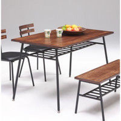 関家具関家具 ダイニングテーブル センチュリー BR ブラウン/ブラック 幅1200×奥行800×高さ700mm センチュリー 1台(直送品)