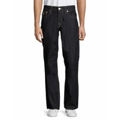 トゥルー リリジョン メンズ パンツ デニム ジーンズ Straight-Fit Cotton Jeans