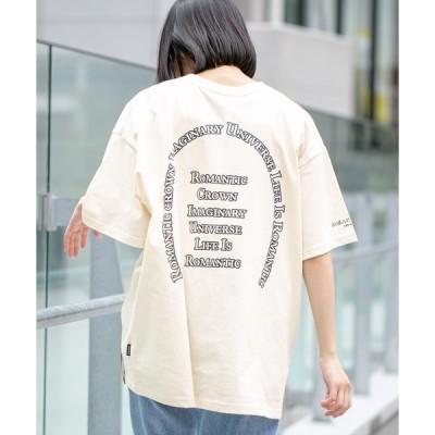 tシャツ Tシャツ 【UNISEX】ROMANTIC CROWN/アーチロゴT 2949533