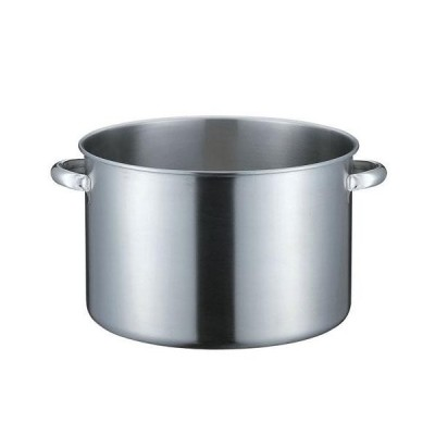 本間製作所 KO 19-0ステンレス IH対応 半寸胴鍋 蓋無 28cm