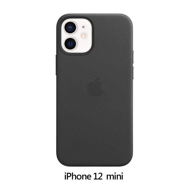 iPhone 12 mini Leather Case with MagSafe - Black (MHKA3FE/A)