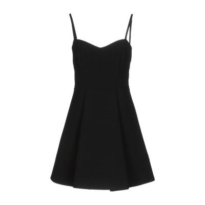 リュー ジョー LIU •JO ミニワンピース&ドレス ブラック 38 88% ポリエステル 12% ポリウレタン ミニワンピース&ドレス