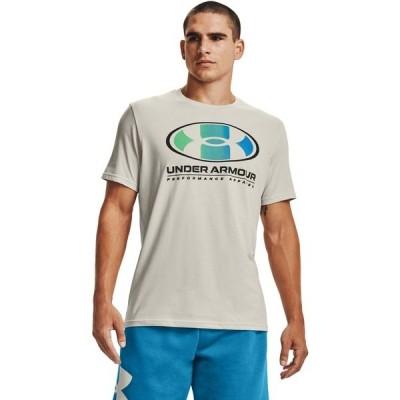 アンダーアーマー Tシャツ トップス メンズ Under Armour Men's Lockertag Short Sleeve T-shirt White
