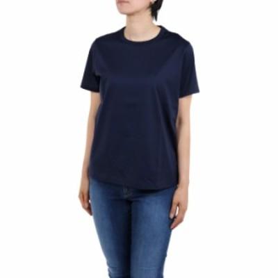【送料無料!】モンクレール MONCLER レディース 半袖Tシャツ 80834 778 ネイビー【NV】