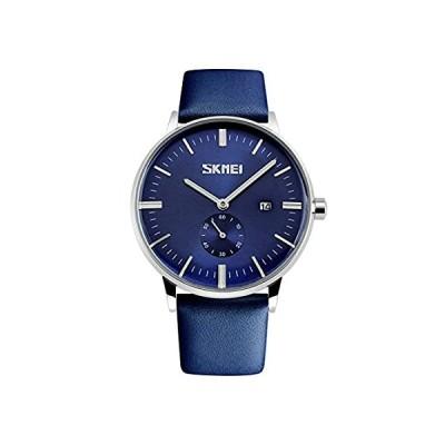 メンズウォッチ 男性腕時計 レザーベルト インダイアル 3針日本製ムーブメントクオーツウォッチ ビジネス カレンダー ユニセックス 男女兼用 ボーイズ